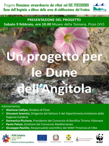 Locandina progetto Dune Angitola