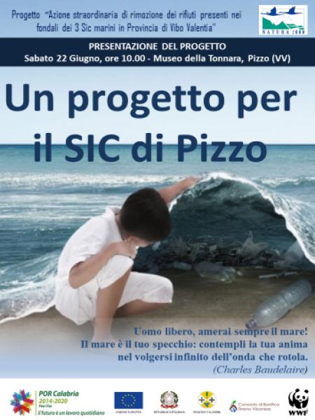Locandina progetto Sic marini